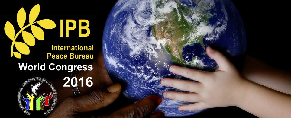 IIPE at the International Peace Bureau World Congress!